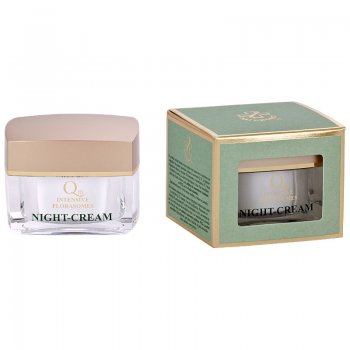 Q10 intensive Florasomes Night- Cream (Nachtcreme) 50ml Hagina