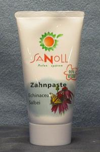 Zahnpaste Echinacea-Salbei 75ml Sanoll