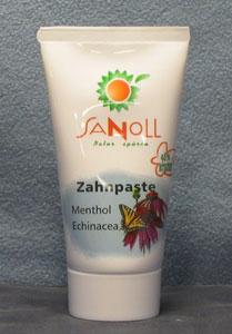 Zahnpaste Menthol-Echinacea 75ml Sanoll