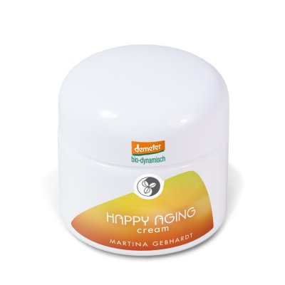 Martina Gebhardt Happy Aging Cream (Hautcreme) 50ml Demeter Naturkosmetik
