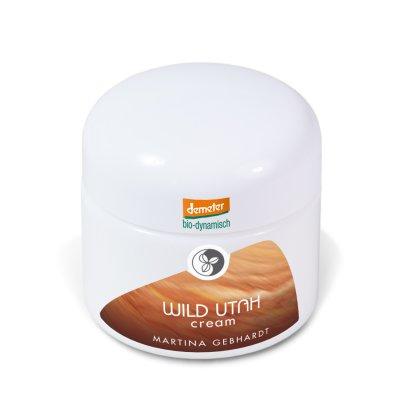 Wild Utah Skincare Creme 50ml Martina Gebhardt Naturkosmetik Demeter