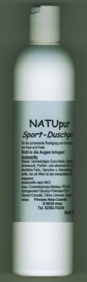 SPORT NatuPur Duschgel 200ml Natural Hair Care