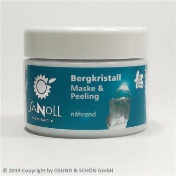 Bergkristall Maske & Peeling nährend NEU!!! 30ml